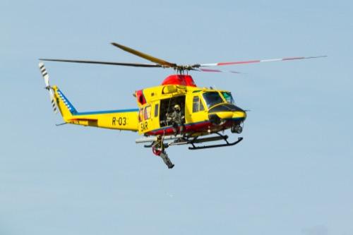 Rettung aus dem Hubschrauber