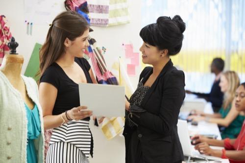 Produktmanagerin im Gespräch