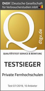 IU Qualitätstest Testsieger